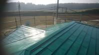 城里町 K様邸 屋根カバー工法(金属屋根取り付け)