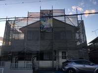 水戸市 N様邸 屋根・外壁塗装(架設足場組立)