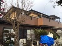 ひたちなか市 K様邸 屋根・外壁塗装(完成)