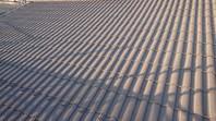 水戸市 N様邸 屋根塗装(下塗り)