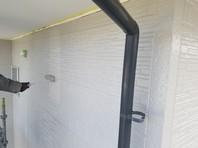 鉾田市 K様邸 外壁塗装(中塗り・上塗り)