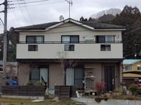 城里町 K様邸 外壁塗装・屋根カバー工法(着工前)