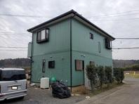 城里町 K様邸 外壁塗装・屋根カバー工法(完成)