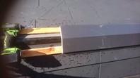 城里町 O様邸 屋根カバー工法(金属屋根取り付け)