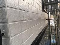 水戸市 N様邸 外壁塗装(中塗り・上塗り)