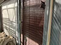 ひたちなか市 K様邸 外壁塗装(中塗り・上塗り)