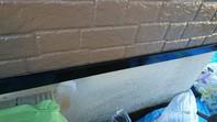 ひたちなか市 R様邸 水切り塗装(ケレン・下塗り・中塗り・上塗り)