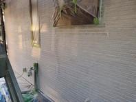 城里町 K様邸 外壁塗装(下塗り)