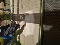 ひたちなか市 K様邸 外壁塗装(下塗り)