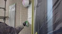 ひたちなか市 R様邸 外壁塗装(下塗り)