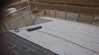 城里町 N様邸 屋根カバー工法(棟板金撤去・防水紙張り込み)