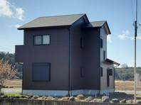 城里町 N様邸 外壁塗装・屋根カバー工法(完成)