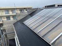 東海村 Y様邸 屋根塗装(中塗り・上塗り)