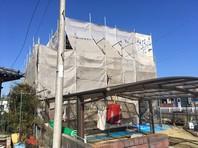 ひたちなか市 D様邸 屋根・外壁塗装(架設足場組立)