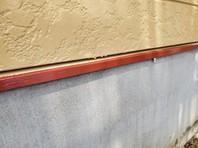 宇都宮市 U様邸 水切り塗装(ケレン・下塗り・中塗り・上塗り)