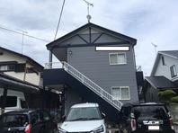 宇都宮市 Kアパート 屋根・外壁塗装(完成)
