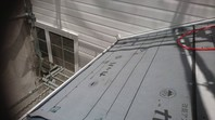 土浦市 K様邸 屋根カバー工法(棟板金撤去・防水紙張り込み)