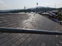 日立市 H様邸 屋根塗装(下塗り・中塗り)