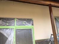 笠間市 M様邸 外壁塗装(中塗り・上塗り)
