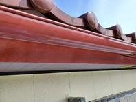 日立市 O様邸 樋塗装(ケレン・下塗り・中塗り・上塗り)
