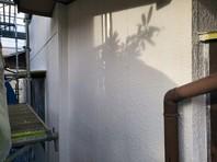 日立市 O様邸 外壁塗装(下塗り・中塗り)