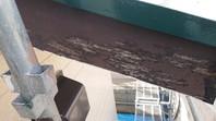 ひたちなか市 D様邸 破風塗装(ケレン・下塗り・中塗り・上塗り)