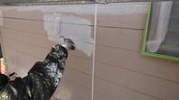 ひたちなか市 D様邸 外壁塗装(下塗り)