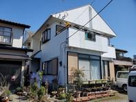 宇都宮市 U様邸 屋根・外壁塗装(着工前)