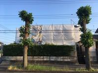 水戸市 M様邸 外壁塗装(架設足場組立)