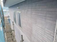 城里町 T様邸 外壁塗装(下塗り)