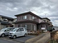 城里町 T様邸 外壁塗装・屋根カバー工法(着工前)