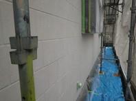 那珂町 E様邸 外壁塗装(下塗り・中塗り)