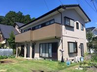 那珂町 E様邸 外壁塗装(完成)