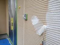 日立市 G様邸 外壁塗装(下塗り・中塗り)