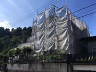 日立市 N様邸 屋根・外壁塗装(架設足場組立)
