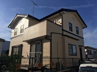 日立市 G様邸 外壁塗装(完成)