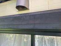 日立市 N様邸 シャッターBOX塗装(ケレン・下塗り・中塗り・上塗り)